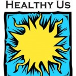 Fond du Lac County Healthy Air Healthy Us Logo - yellow sun with a blue background
