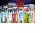test tubes with colored fluids
