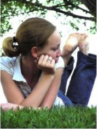 Girl-on-Grass
