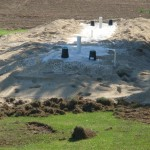 septic system mound