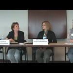 panel of female speakers