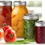 canned fruits and vegetabes and fresh tomatoes