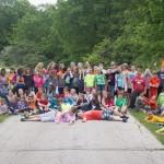 participants at 4-H Camp