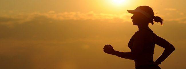 Woman jogger