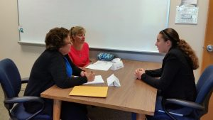 interviews for 4-H trips & awards