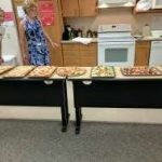 The Junior Master Gardeners had a pizza party at the end of the year.
