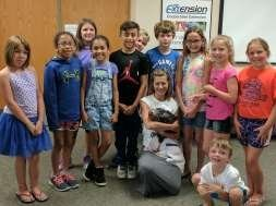 group picture of junior master gardeners