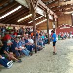 The Cover Crop Field Day held at the Dodge County Fairgrounds had 103 participants.