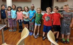 Small steps is a program that teaches kids to eat a healthier diet.