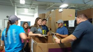 A group of 4-H members and chaperones traveled to South Carolina where they worked on service learning projects.