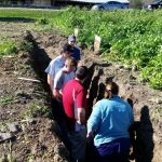 Dr. Loretta Ortiz-Ribbing teaches about cover crops and their influence on soil.
