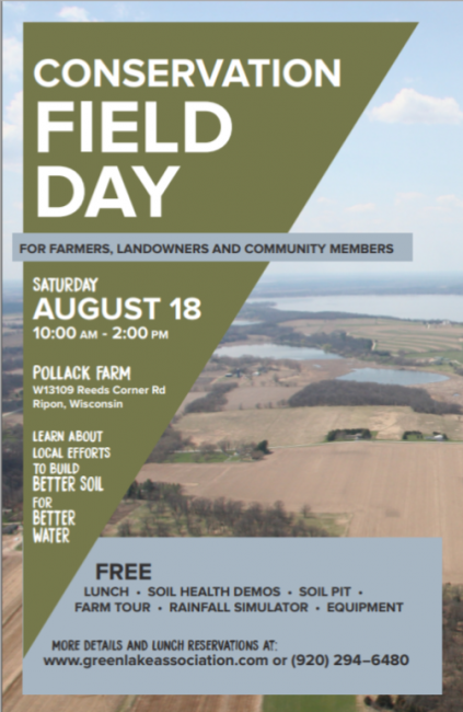 Pollack Farm Conservation Field Day Flyer