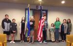 Flag presentation