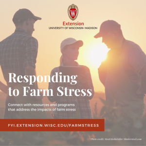farmers with caps on talking