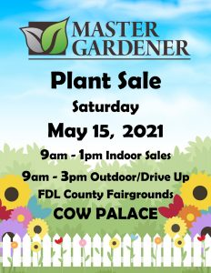 2021 plant sale details flower and fence
